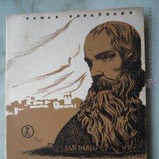 Coleccionismo de Revista Temas Españoles: 1955 TEMAS ESPAÑOLES Nº 183 ALFONSO CANO. F. POMPEY // PINTOR, ESCULTOR, BIOGRAFÍA, OBRA.... Lote 37397663