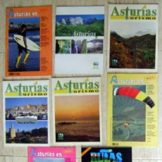 Coleccionismo de Revista Temas Españoles: 9 REVISTAS TURISMO DE ASTURIAS.. Lote 46501003