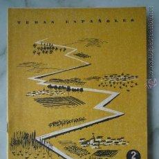 Coleccionismo de Revista Temas Españoles: 1958 TEMAS ESPAÑOLES Nº 370 PLAN ZARAGOZA // POSGUERRA OBRAS CAUDILLO CAMARENA.... Lote 37569244