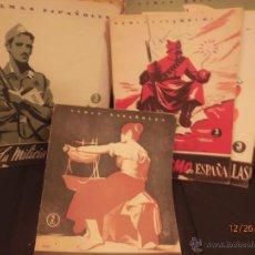 Coleccionismo de Revista Temas Españoles: TEMAS DE ESPAÑA. 87 TÍTULOS, AÑOS 50. Lote 46941722