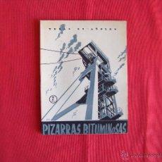 Coleccionismo de Revista Temas Españoles: PIZARRAS BITUMINOSAS. Lote 46976271