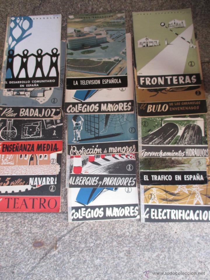 LIQUIDACION 14 NUMEROS COLECCION TEMAS ESPAÑOLES - VER LISTADO TITULO Y Nº - NO SE VENDEN SUELTOS (Papel - Revistas y Periódicos Modernos (a partir de 1.940) - Revista Temas Españoles)