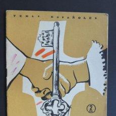 Coleccionismo de Revista Temas Españoles: SPINOLA / LUIS AGUIRRE PRADO / TEMAS ESPAÑOLES 1957. Lote 48269584
