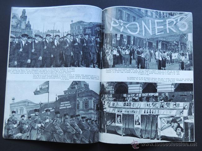 Coleccionismo de Revista Temas Españoles: CONQUISTA POR EL TERROR/ LELAND STOWE / TEMAS ESPAÑOLES 1952 / LOS PAISES CONUNISTAS - Foto 2 - 48269735