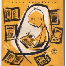 Coleccionismo de Revista Temas Españoles: TEMAS ESPAÑOLES. Nº 297. EL CUENTO. CARLOS EGUIA. PUBLICACIONES ESPAÑOLAS 1957. (RF.C/T). Lote 48493854