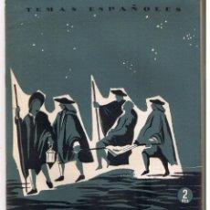 Coleccionismo de Revista Temas Españoles: TEMAS ESPAÑOLES. Nº 288. SAN ANTONIO DE LOS ALEMANES. PUBLICACIONES ESPAÑOLAS 1956. (RF.C/T). Lote 48496495