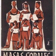 Coleccionismo de Revista Temas Españoles: TEMAS ESPAÑOLES. Nº 247. MASAS CORALES. ANGEL NIÑO. PUBL. ESPAÑOLAS 1956. (RF.C/T). Lote 48500203