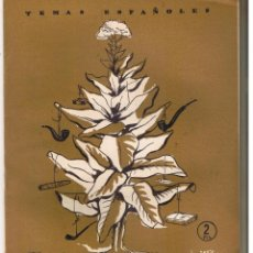 Coleccionismo de Revista Temas Españoles: TEMAS ESPAÑOLES. Nº 227. EL TABACO. PILAR MARTINEZ DE BAÑOS. PUBL. ESPAÑOLAS 1956. (RF.C/T). Lote 48501199
