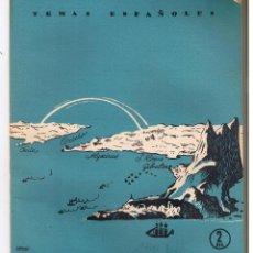 Coleccionismo de Revista Temas Españoles: TEMAS ESPAÑOLES. Nº 216. BIOGRAFÍA DEL ESTRECHO. DOMINGO MANFREDI. P. ESPAÑOLAS 1956. (RF.C/T). Lote 48503959