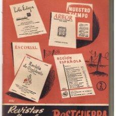 Coleccionismo de Revista Temas Españoles: TEMAS ESPAÑOLES. Nº 215. REVISTAS CULTURALES DE POSTGUERRA. P. ESPAÑOLAS 1956. (RF.C/T). Lote 48503998
