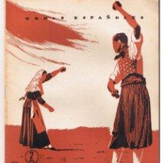 Coleccionismo de Revista Temas Españoles: TEMAS ESPAÑOLES. Nº 147. BAILES REGIONALES. DOMINGO MANFREDI. PUBLICACIONES ESPAÑOLAS. 1955.(RF.C/T). Lote 190710447
