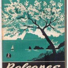 Coleccionismo de Revista Temas Españoles: TEMAS ESPAÑOLES. Nº 48. BALEARES. ENRIQUE CORMA. PUBL. ESPAÑOLAS 1953.(C/T2). Lote 48534348