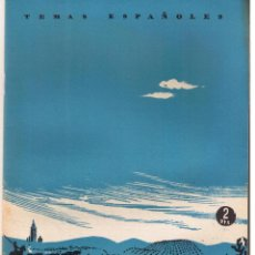 Coleccionismo de Revista Temas Españoles: TEMAS ESPAÑOLES. Nº 44. ANDALUCIA. CARLOS DE ARNEDO. PBL. ESPAÑOLAS 1953.(C/T2). Lote 48534499