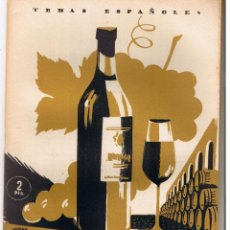 Collectionnisme de Magazine Temas Españoles: TEMAS ESPAÑOLES. Nº 35. YO, EL VINO. MIGUEL RGUEZ. PANTOJA. PBL. ESPAÑOLAS 1953..(C/T2). Lote 48534767