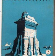 Collectionnisme de Magazine Temas Españoles: TEMAS ESPAÑOLES. Nº 9. LA GESTA DEL ALTO DE LOS LEONES. VALENTÍN FDEZ. C. P. ESPAÑOLAS 1952.(C/T2). Lote 48537823