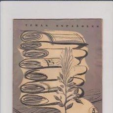 Coleccionismo de Revista Temas Españoles: TEMAS ESPAÑOLES - Nº 393 - FIBRAS TEXTILES / 1959 - 3 PTS.. Lote 48755611