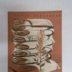 Coleccionismo de Revista Temas Españoles: TEMAS ESPAÑOLES. - Nº 393. - FIBRAS TEXTILES. LUIS AGUIRRE PRADO. TDK169. Lote 49447473