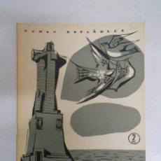 Coleccionismo de Revista Temas Españoles: TEMAS ESPAÑOLES. Nº 311. HUELVA. FEDERICO VILLAGRAN. ANTONIO GOMEZ ALFARO. TDK169. Lote 49448229