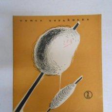 Coleccionismo de Revista Temas Españoles: TEMAS ESPAÑOLES. Nº 280. EL ALGODÓN. BERTA PENSADO. TDK169. Lote 49448405