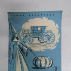 Coleccionismo de Revista Temas Españoles: TEMAS ESPAÑOLES. Nº 392. COCHES Y CARROZAS. ROMUL HORCAJADA. TDK169. Lote 49448811