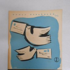 Coleccionismo de Revista Temas Españoles: TEMAS ESPAÑOLES. Nº 302. EL CORREO. EMILIO FORNET DE ASENSI. TDK169. Lote 49449021