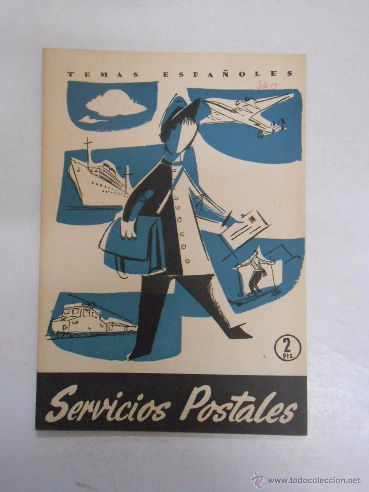 TEMAS ESPAÑOLES. Nº 360. SERVICIOS POSTALES. JOSE MARIA FRANCES ALONSO. TDK169 (Papel - Revistas y Periódicos Modernos (a partir de 1.940) - Revista Temas Españoles)