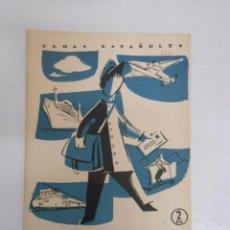 Coleccionismo de Revista Temas Españoles: TEMAS ESPAÑOLES. Nº 360. SERVICIOS POSTALES. JOSE MARIA FRANCES ALONSO. TDK169 . Lote 49449651
