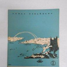 Coleccionismo de Revista Temas Españoles: TEMAS ESPAÑOLES. Nº 216. BIOGRAFÍA DEL ESTRECHO. DOMINGO MANFREDI. TDK169. Lote 49449692