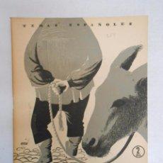Coleccionismo de Revista Temas Españoles: TEMAS ESPAÑOLES. Nº 214. MERCADOS Y FERIAS. LUIS AGUIRRE PRADO. TDK169. Lote 49449943