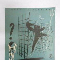 Coleccionismo de Revista Temas Españoles: TEMAS ESPAÑOLES. Nº 152. PROTECCIÓN DE MENORES. JULIA MARTÍNEZ. TDK169. Lote 49450141