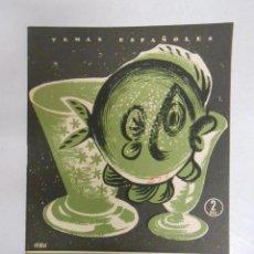 Coleccionismo de Revista Temas Españoles: TEMAS ESPAÑOLES. Nº 293. LOS VIDRIOS. JOSÉ GUILLOT CARRATALA. TDK169. Lote 49450493