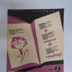 Coleccionismo de Revista Temas Españoles: TEMAS ESPAÑOLES. Nº 31. SEIS POETAS CONTEMPORÁNEOS. VICENTE G. MONTERO. TDK169. Lote 49450575
