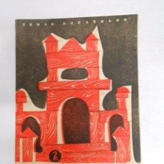 Coleccionismo de Revista Temas Españoles: TEMAS ESPAÑOLES Nº 371. ARQUITECTURA MODERNA. NÚÑEZ MAYO, OSCAR. TDK169. Lote 49450651