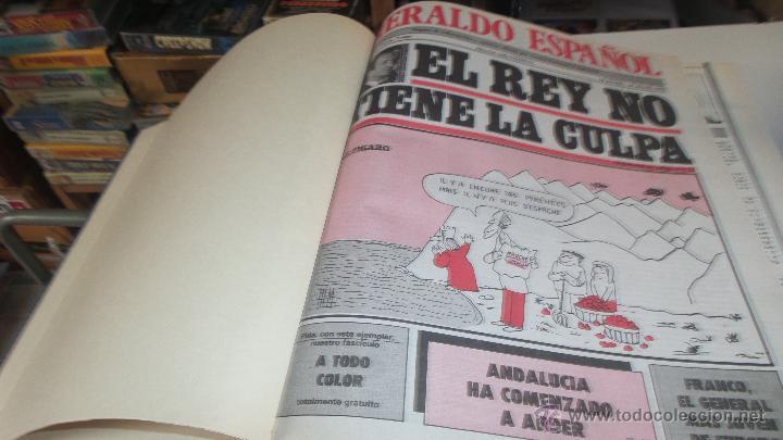 LOTE EL HERALDO ESPAÑOL ENCUADERNADO DEL Nº 11 AL 20 AÑO 1980 (Papel - Revistas y Periódicos Modernos (a partir de 1.940) - Revista Temas Españoles)