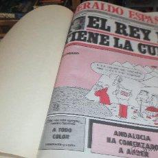 Colecionismo da Revista Temas Españoles: LOTE EL HERALDO ESPAÑOL ENCUADERNADO DEL Nº 11 AL 20 AÑO 1980. Lote 49747678