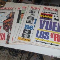 Coleccionismo de Revista Temas Españoles: LOTE DE 9 HERALDO ESPAÑOL Nº 31-32-33-34-35-36-37-38-39- Y 40 AÑO 80. Lote 49747846