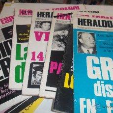 Coleccionismo de Revista Temas Españoles: LOTE DE 50 HERALDO ESPAÑOL Nº 52 AL 101 DEL 1981 Y 82 CON LOS EXTRA Nº 100 Y OTRO. Lote 49748059