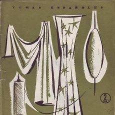 Coleccionismo de Revista Temas Españoles: CORMA, ENRIQUE: INDUSTRIA TEXTIL. TEMAS ESPAÑOLES Nº 312. Lote 50573841