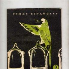 Coleccionismo de Revista Temas Españoles: TEMAS ESPAÑOLES LA 1ª REPUBLICA, Nº 134 2ª EDICION 1959. Lote 51224339