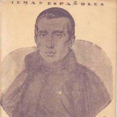 Coleccionismo de Revista Temas Españoles: MANFREDI CANO, DOMINGO: JAIME BALMES. TEMAS ESPAÑOLES Nº 133. Lote 51510917