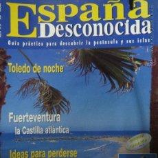 Coleccionismo de Revista Temas Españoles: REVISTA ESPAÑA DESCONOCIDA AÑO V Nº 37 TOLEDO DE NOCHE,LA ALPUJARRA GRANADINA.. Lote 51715509
