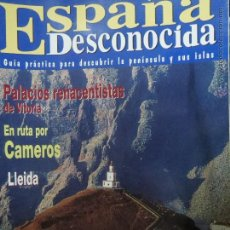 Coleccionismo de Revista Temas Españoles: REVISTA ESPAÑA DESCONOCIDA AÑO VNº 38,RENACENTISTAS DE VITORIA,CAMEROS,LLEIDA.. Lote 51716535