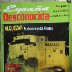 Coleccionismo de Revista Temas Españoles: REVISTA ESPAÑA DESCONOCIDA AÑO I Nº 5,ALQUEZAR POBLET CUNA DE MONJES,ESCRITURAS GALLEGAS.. Lote 51782042