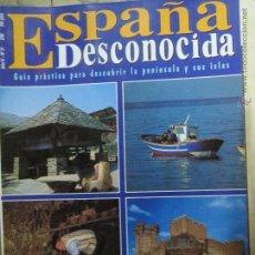 Coleccionismo de Revista Temas Españoles: REVISTA ESPAÑA DESCONOCIDA AÑO IV Nº 31,52 DESTINOS PARA TODO EL AÑO,COMUNIDADES.. Lote 51803137