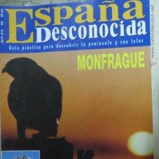Coleccionismo de Revista Temas Españoles: REVISTA ESPAÑA DESCONOCIDA AÑO IV Nº 33,MONFRAGUE,LAS HOCES RIAZA,COCA ,PUERTAS DE CASTILLA.. Lote 51803319