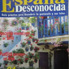 Coleccionismo de Revista Temas Españoles: REVISTA ESPAÑA DESCONOCIDA AÑO I Nº 36,EL SELLA,EL ARGA,ESCUELA DE PASTORES.. Lote 51803545