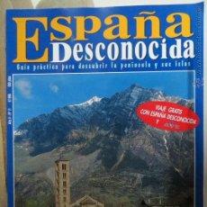 Coleccionismo de Revista Temas Españoles: REVISTA ESPAÑA DESCONOCIDA AÑO II Nº 11,EL VALLE DEL BOI,LA CIUDAD FUERTE DE SEGOBRIGA.. Lote 51823632