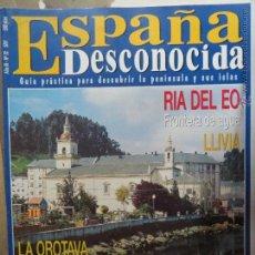 Coleccionismo de Revista Temas Españoles: REVISTA ESPAÑA DESCONOCIDA AÑO III Nº 22,LA OROTAVA,LAGUARDIA,EL CERCO DE ARTAJONA,RIA DEL EO.. Lote 51932723