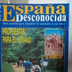 Coleccionismo de Revista Temas Españoles: REVISTA ESPAÑA DESCONOCIDA AÑO III Nº 25,POR LA SIERRA DE PELA,LA GARROTXA.. Lote 51932977