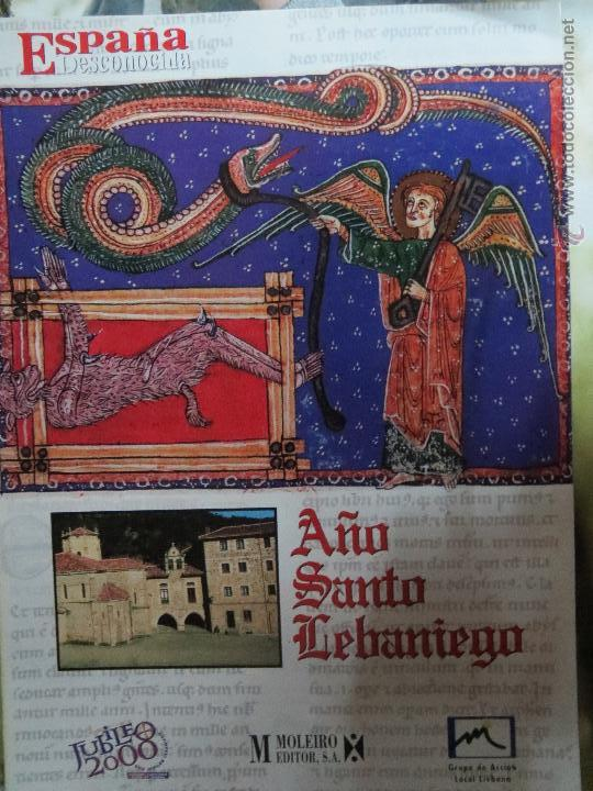 REVISTA ESPAÑA DESCONOCIDA AÑO SANTO LEBANIGO. (Papel - Revistas y Periódicos Modernos (a partir de 1.940) - Revista Temas Españoles)